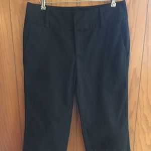 Banana Republic Martin black cropped pants